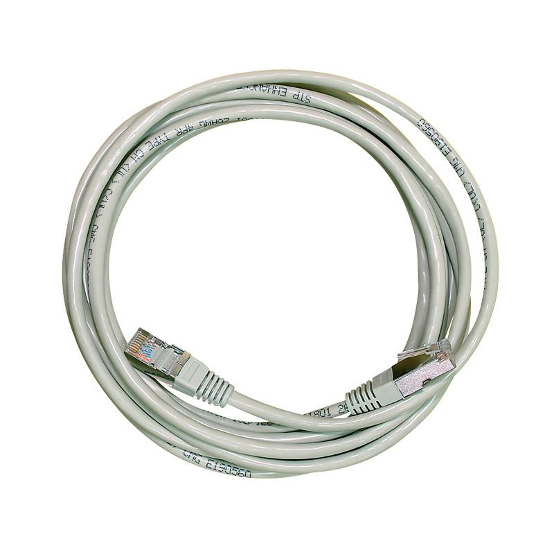 Patch kabel UTP, kat. 5e, 1 m, různé barvy, šedá