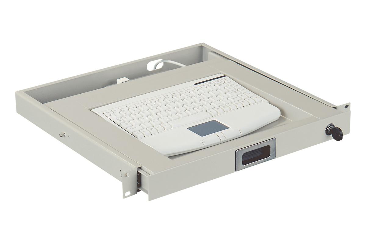 Zásuvka s klávesnicí s touchpadem