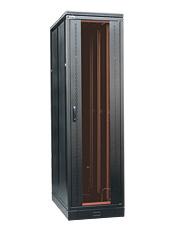 Szafa z dzwiami przednimi szklanymi z perforowanymi bokami metalowymi i zamkiem baskwilowym (trzypunktowym) Numer katalogowy: WZ-SZBSE-006-4622-13-7111-1-161